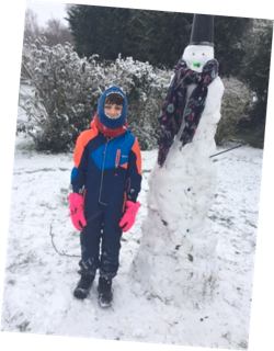 Toma snowman