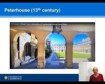 Cambridge virtual Physics visit iii