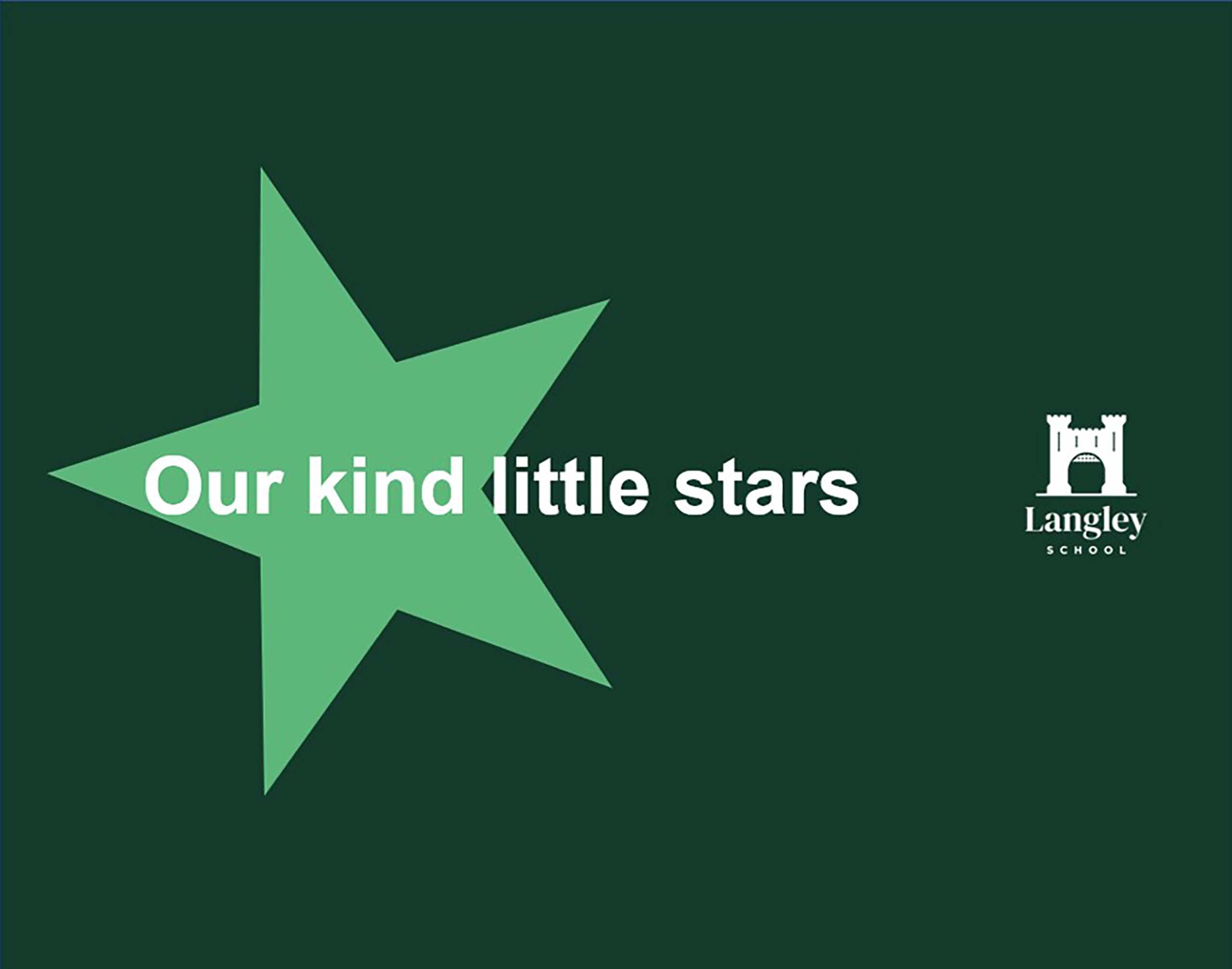 Our kind little stars 1