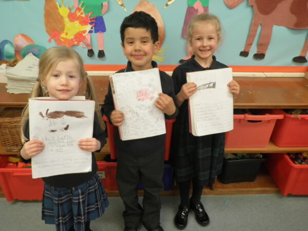 World poetry day in reception